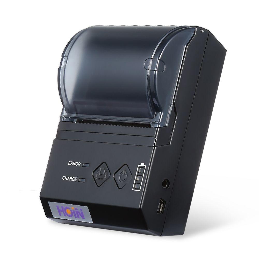 HOIN HOP - E200 HOP E200 Mini USB/ Bluetooth 70mm/s Thermal Printer Receipt  Machine Wireless Printing for Android IOS Windows
