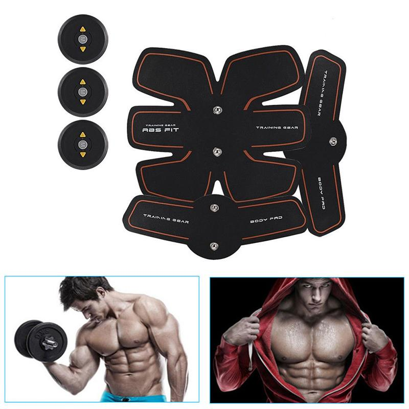 Body Slimming Shaper Machine Tens Electronic Abdominal Fitness Accessories Ems Fitness, Running & Yoga Fitness Equipment & Gear