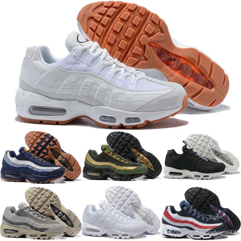 buy popular e883a d35bb Nike Air Max Airmax 95 Nuevo MEN Air Ultra 20th Anniversary 95 OG Zapatos  Deportivos Zapatos Deportivos Para Hombres 95s Trainer Tennis Sneakers  Envío ...