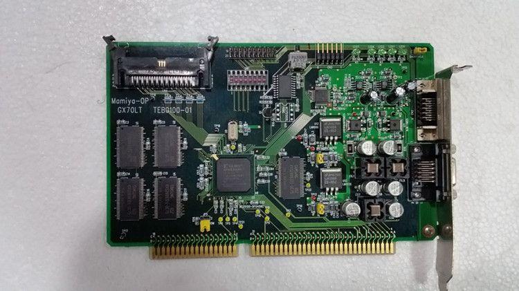 100% working For MAMIYA-OP GX70LT TEB0100-0103-21005-01 rev MP 10-07330 U12 B1F8*PCI PROMPT ISS D SERIAL NO BROADCAST DEVELOPMENTS