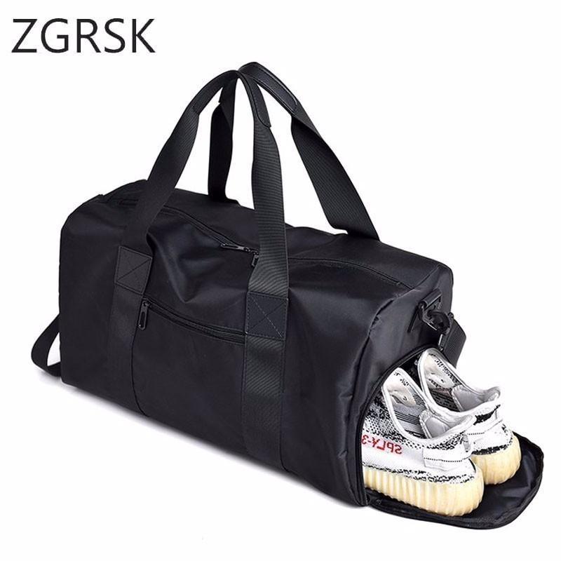 feeba2e7f4 Waterproof Nylon Travel Handbag Men Fashion Carry On Weekend Duffle Bags  Vintage Casual Duffel Shoulder Bags Large Overnight Laptop Bags For Women  Travel ...