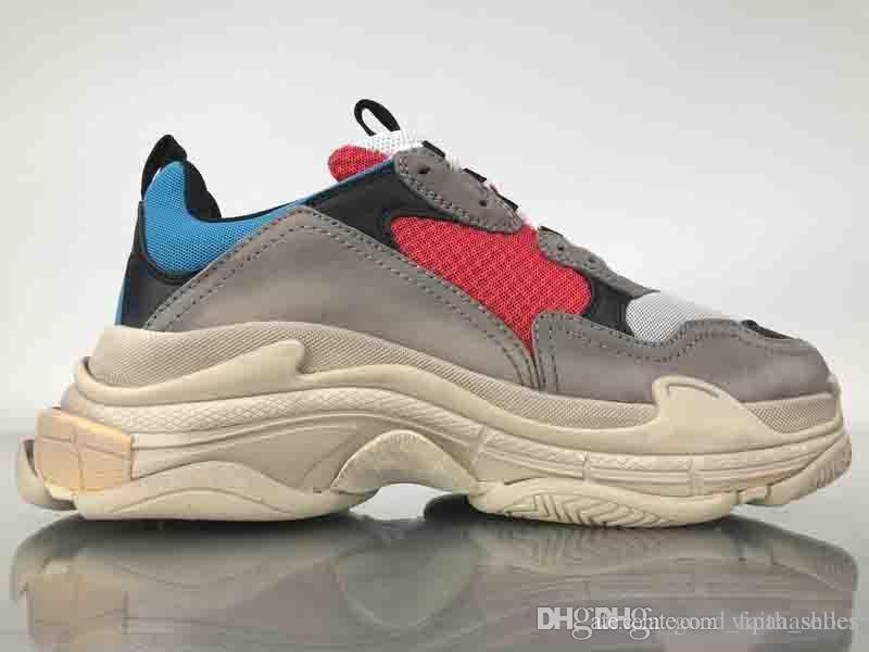 864f26e7 Купить Оптом Nike Shoes Vans Vapormax Off White Дизайнерская Обувь Атлетик  Самый Модный Верхний Качественный Новый Цвет Тройной S Кроссовки Мужские ...