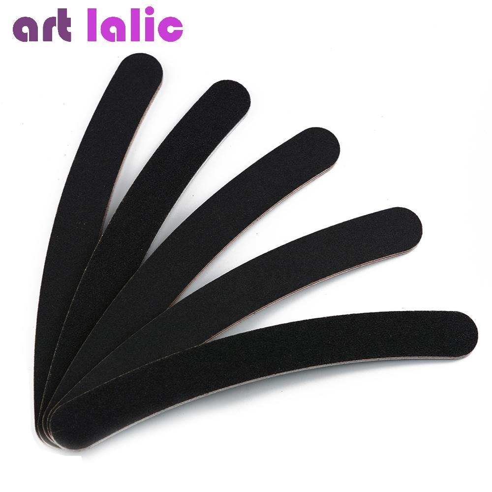 Emery Board Grey Sandpaper Black Emery File Nail Files For Nail Art ...
