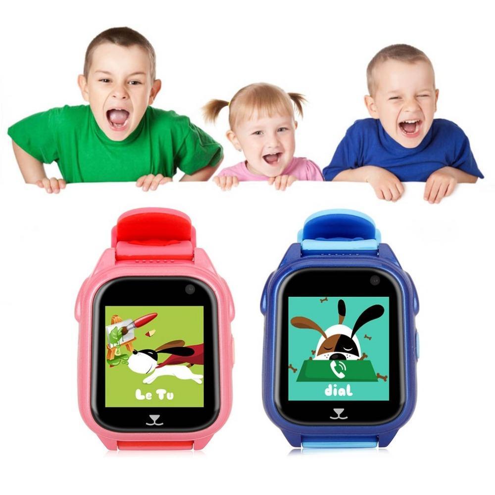 GPS Tracker Children Watch Anti Lost SOS Call Kids Smart Watch Child  Tracking Bracelet Smartwatch Support SIM Card
