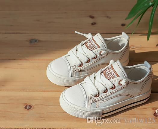 Children's Casual Shoes Spring Canvas Girl Breathable Sneaker Shoes Boys&Girls Not Smelly Feet Soft Chaussure/Kids Sneakers