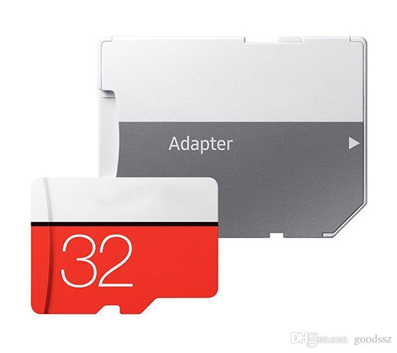 실제 용량 32GB EVO Plus Memory UHS-I 카드 클래스 10 U1 TF 어댑터가있는 TRANS-Flash