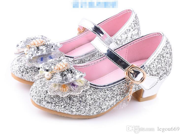 34fed7030fd3 New Children Princess Shoes Girls Sequins Girls Wedding Party Kids Dress  Shoes For Girls School Shoes GA582 Boys Casual Loafers Boys Boots Online  From ...
