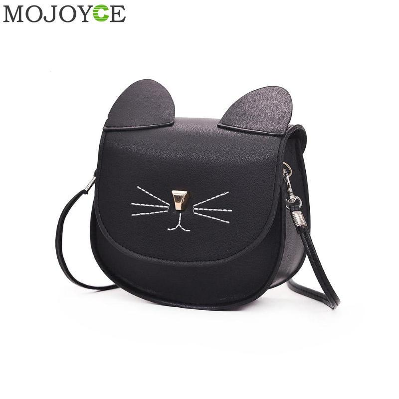 65469f2e9c71 Embroidery Cat Mini Shoulder Bags For Girls Messenger Bags Princess Style  Kids Crossbody For Children Purses And Handbags Leather Bags For Women  Clutch ...