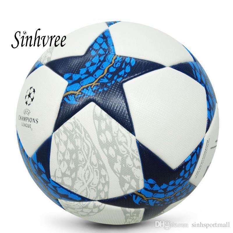 Compre 2018 Nuevo A ++ Premier Pelota De Fútbol De PU Oficial Tamaño 5 Balón  De Fútbol Liga De Fútbol Deporte Al Aire Libre Balones De Entrenamiento  Futbol ... 77da062536237