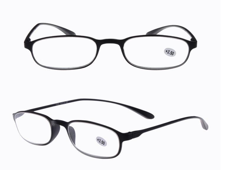 73ab3b90bd2 Flexible Super Light Resin Glasses Presbyopic Glasses for Elders ...