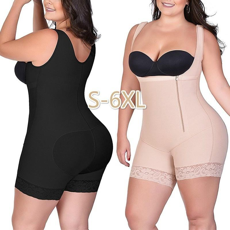 514191e946 Women S Plus Size Bodysuit Shapewear Firm Control Full Body Shaper  Underbust Waist Tranier Butt Lifter Shapewear Bodysuit Canada 2019 From  Clemmenttt