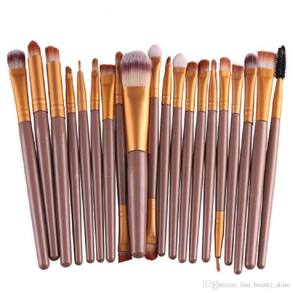 Professionnel / set Maquillage Pinceau Set Outils Maquillage Trousse De Toilette Laine Maquillage Brosse Set Doux Synthétique