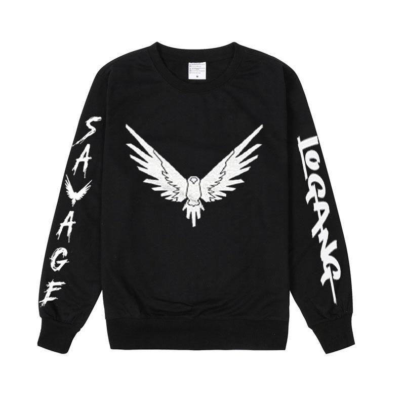 b38ed69d035 Pkorli Savage Maverick Hoodies Men Women Logang Jake Paul Crewneck Sweatshirt  Casual Long Sleeve Maverick Bird Print Sweatshirt D18100703 Online with ...
