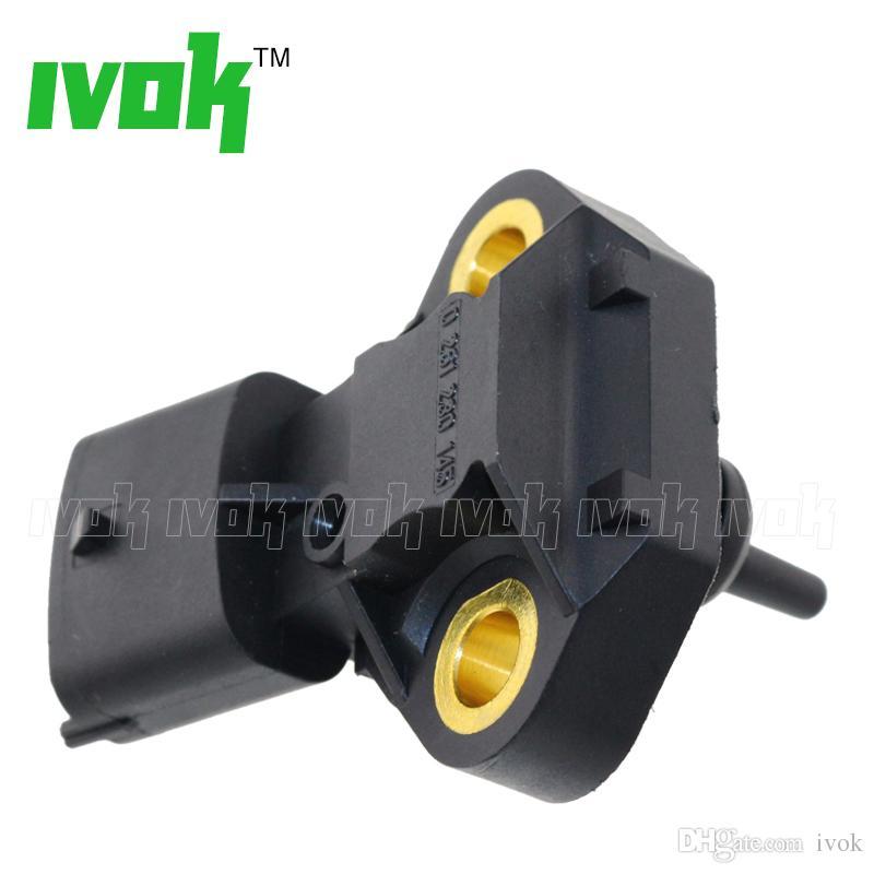 Sensor de presión de 100 bar, temperatura del combustible para Fiat Doblo 1.4 Natural Power CNG Engine 0261230145, 55228825, 0261230249, 0 261 230 145