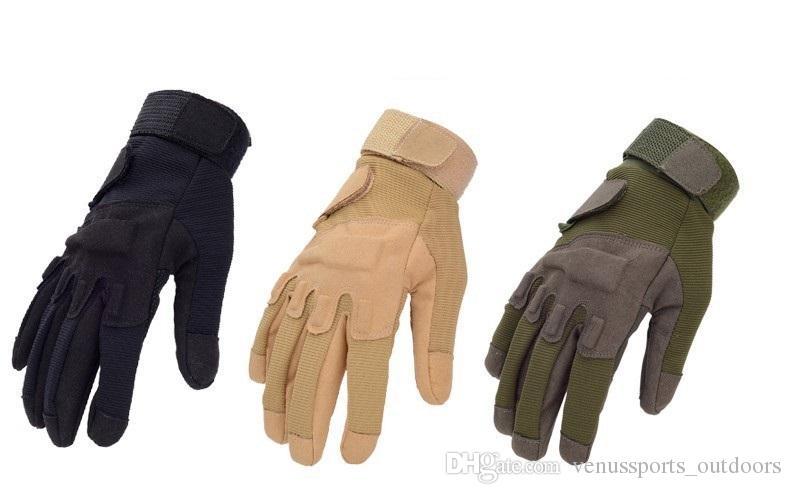 Camping & Outdoor Bekleidung Handschuhe Sport im Freien Vollfinger Military Tactical Airsoft Jagd Handschuh
