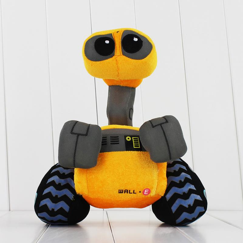 2018 27cm wall e stuffed soft robot walle plush toys doll from