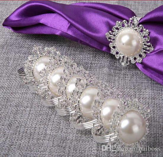 Cheap Wholesale Wedding Crystal Napkin Rings Best Flower Napkin Rings  Wholesale 7483324d09f8