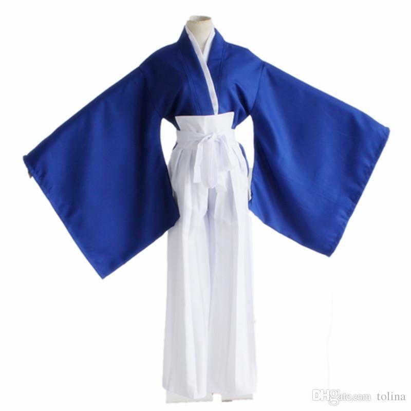 Anime Rurouni Kenshin Himura KENSHIN Cosplay Kostüm Kimono Halloween Rollenspiel Kleidung Tops Hosen Gürtel Uniform