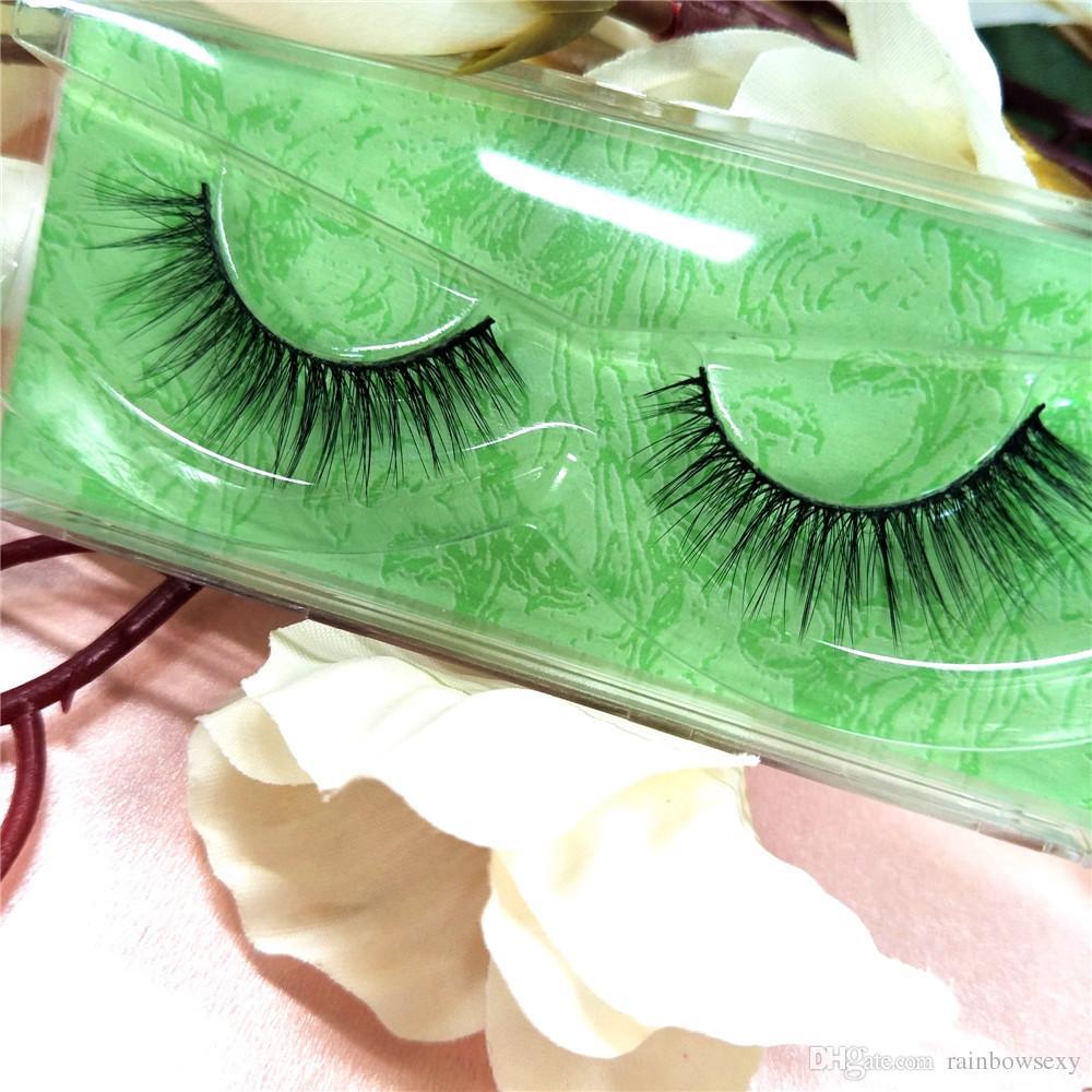 100% Real Siberian 3D Mink Lashes Full Strip False Eyelashes Nature & Soft Long Individual Eyelashes Extension Makeup Beauty p9