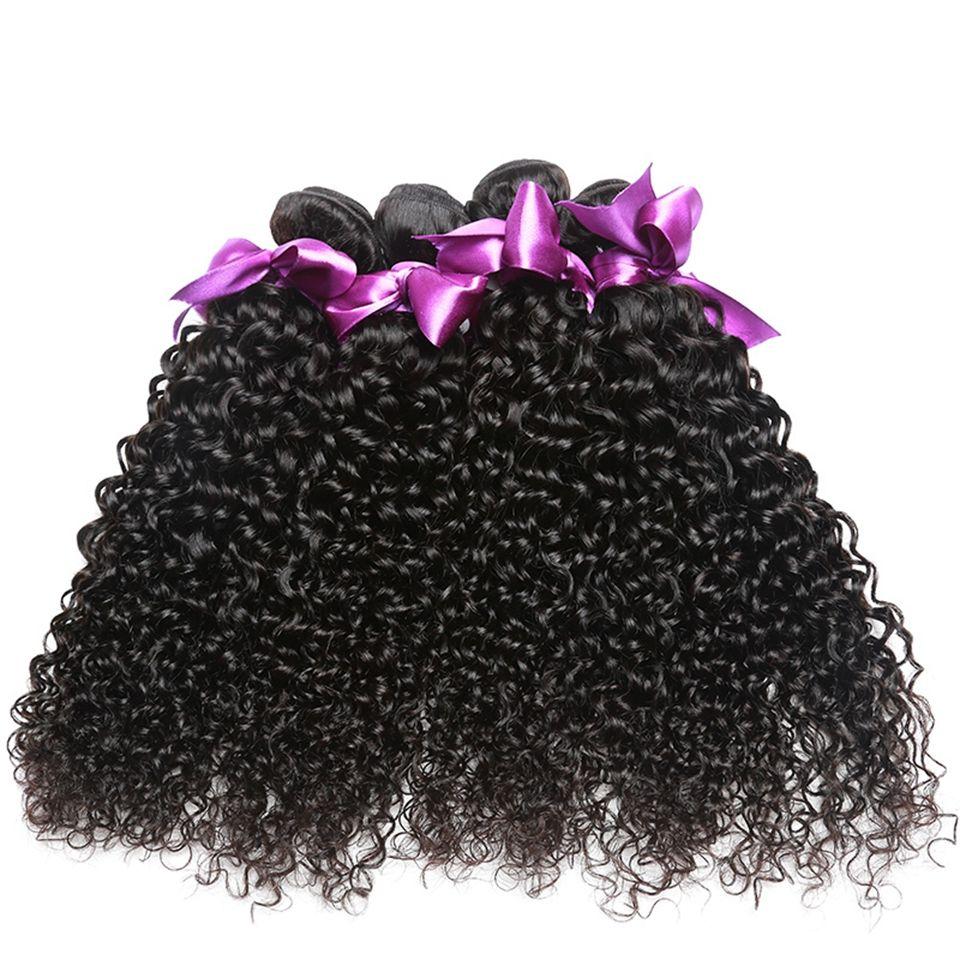 8A Brazilian Curly Virgin Hair 4 Bundles Mink Brazilian Afro Kinky Curly Human Hair Weaves Brazilian Kinky Curly Virgin Hair Bundle Deals