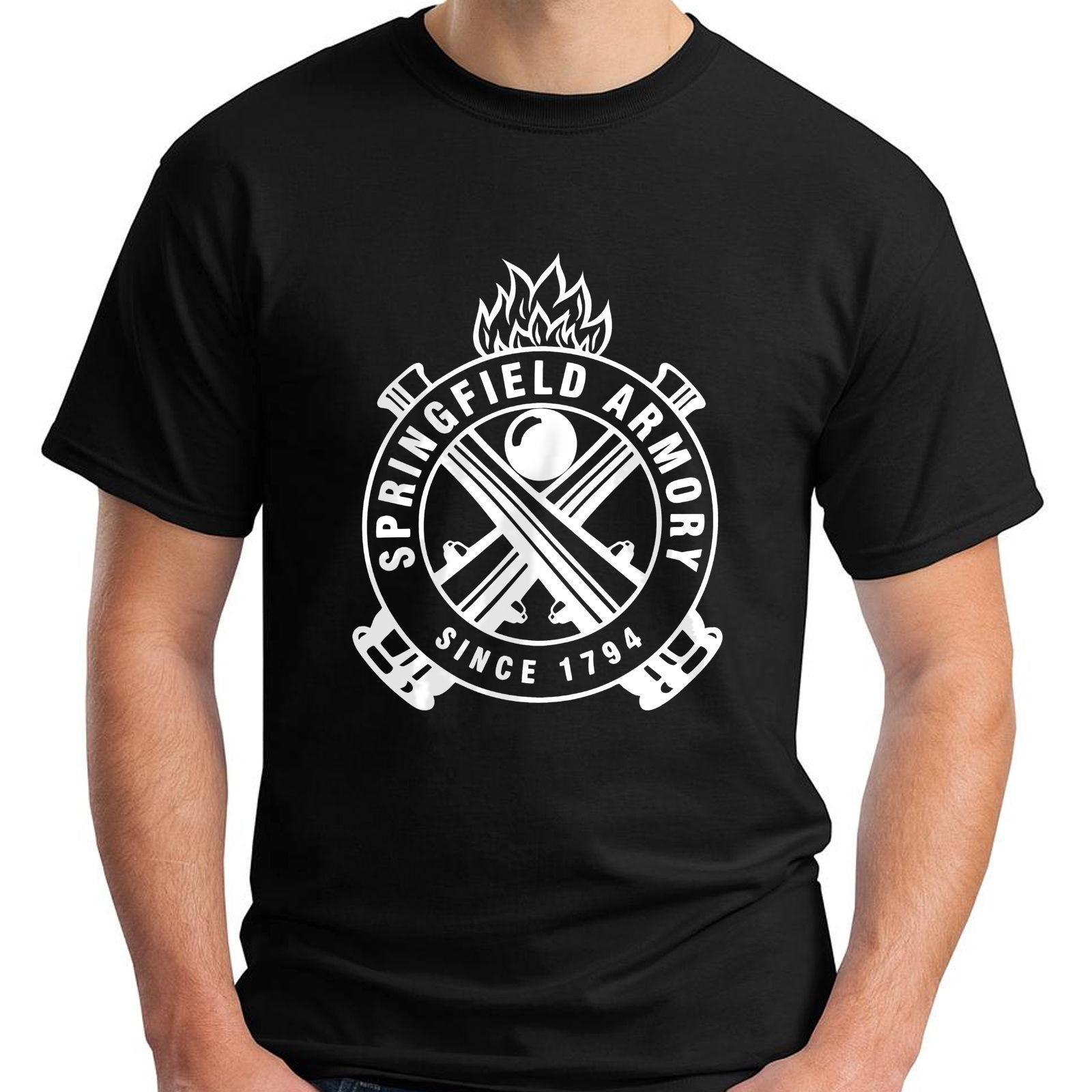 15 5xl Camiseta S 5 Hombre Gun Enmienda Springfield Pro Armory Ar 2ª Talla Black wPN08nOkX