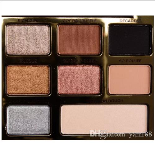 جديد العين ماكياج الشوكولاته الذهب عين الظل لوحة 16 لون عينيه / 18 لون الكرتون عينيه لوحة شحن مجاني