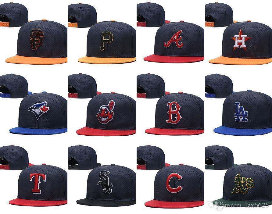 f24deaca7c7 One Piece 2018 New York Baseball Hats Men s Team NY Embroidered Team Logo Baseball  Caps Brands Flat Bill Sport Adjustable Hat Bones Baseball Snapback Hats ...