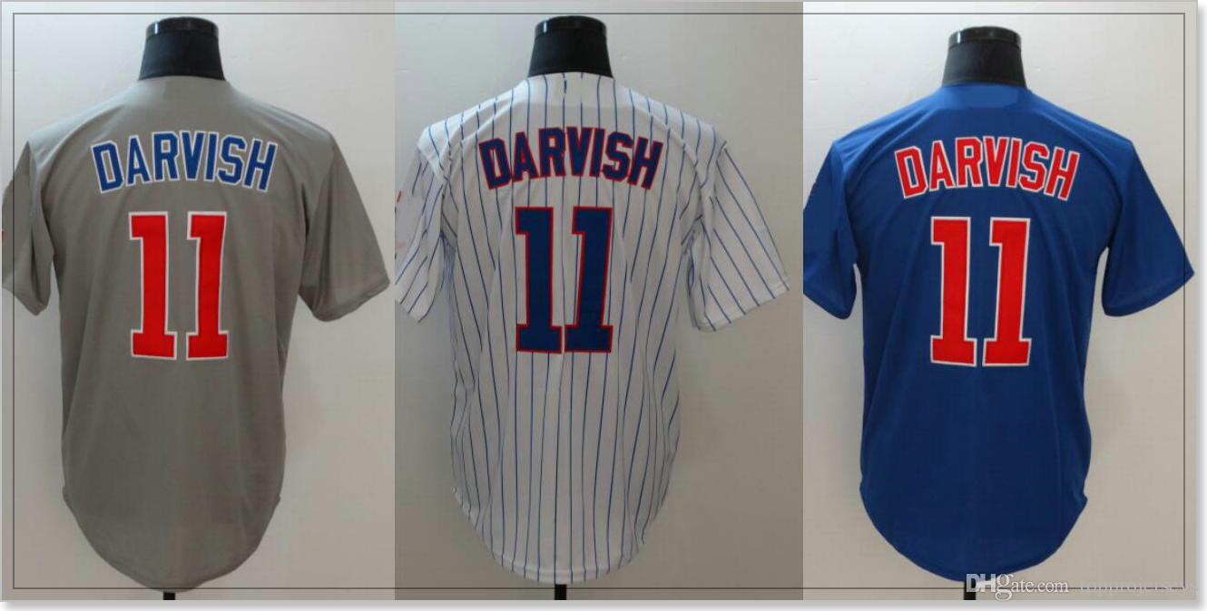 7cbe40d650d 2019 Chicago  11 Yu Darvish Mens Baseball Shirts Pro Sports Team Jerseys  Cheap Uniforms Custom Stitched Discount Embroidery For Sale From  Topprojerseys