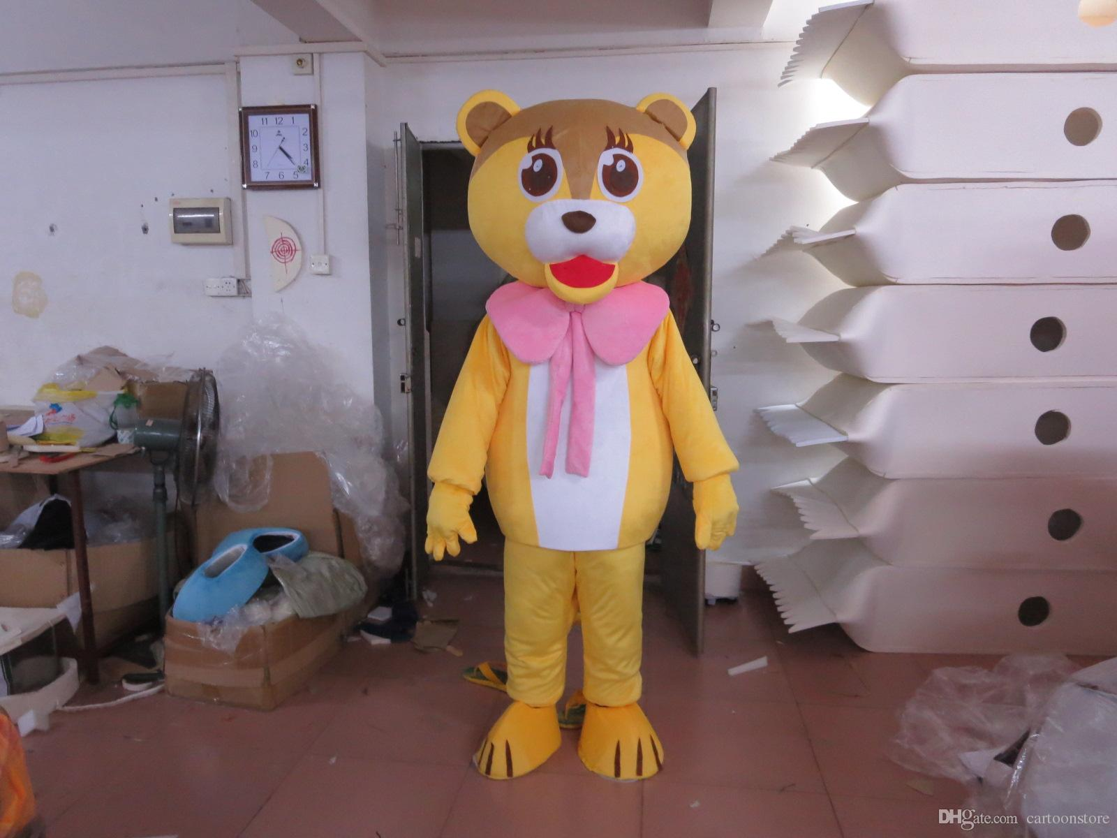 Quality Cartoon Lion Party Costume xmas Baby Lion Mascot Outfit Halloween Chirastmas Party Fancy Dress Mascot Costumes