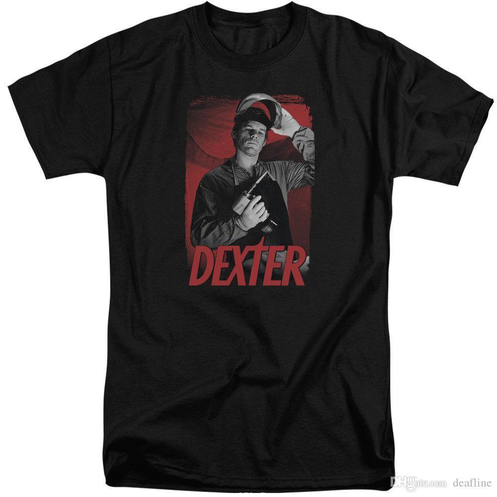 New Fashion Style Design T ShirtDEXTER SEE SAW T-Shirt Men's Tall Short Sleeve Short Sleeve Printed O-Neck Tee For Men