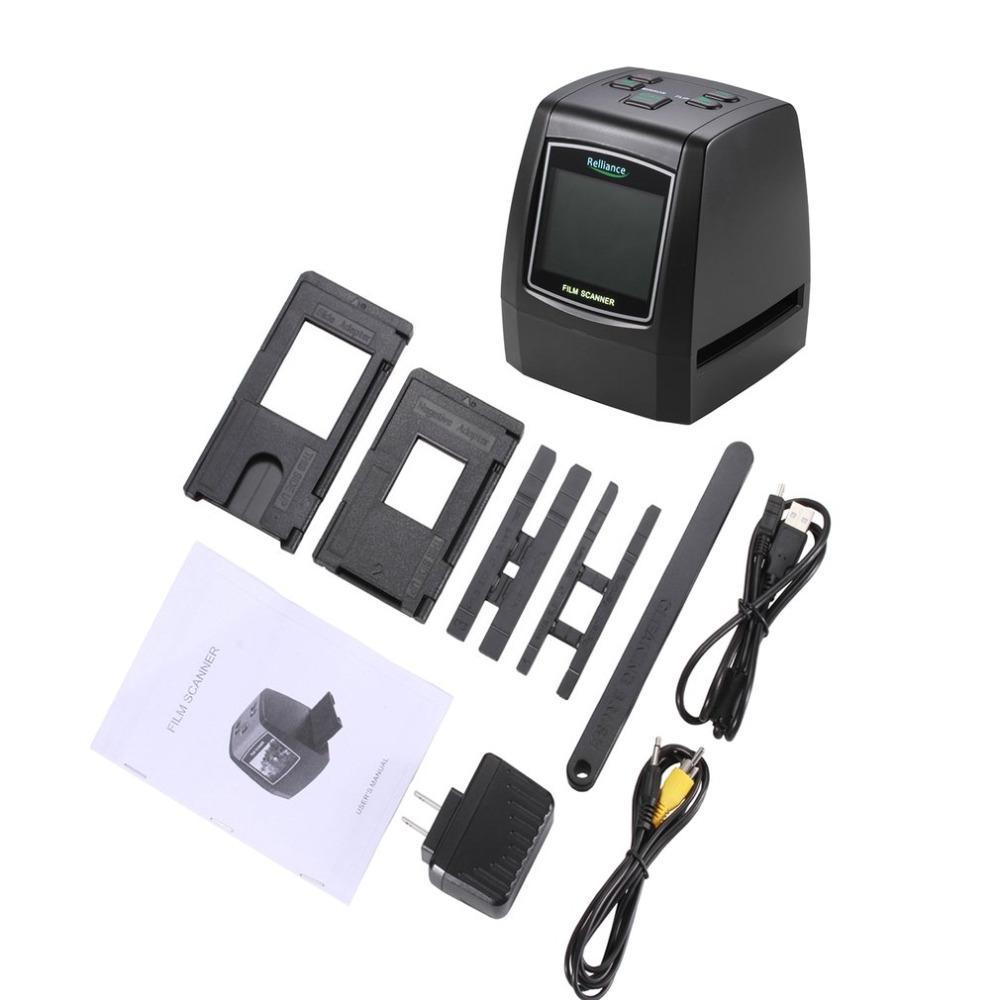135mm/ 126mm/ 110mm/ 8mm High Definition Film Scanner Fast Photo Printed  High Resolution Photo Scanner USB 2 0 Film Converter