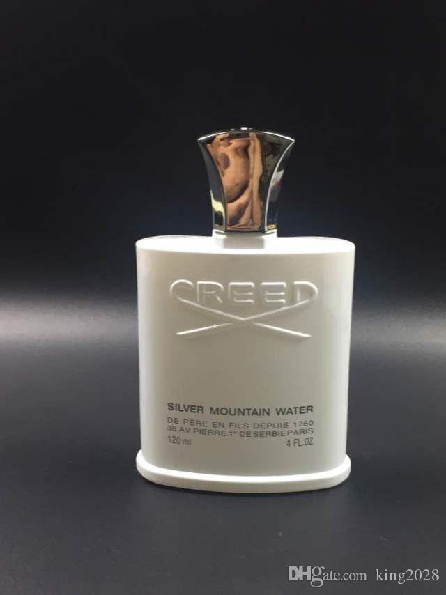 Famous brand perfume Creed sliver mountain water for men cologne perfume 120ml with long lasting time good smell