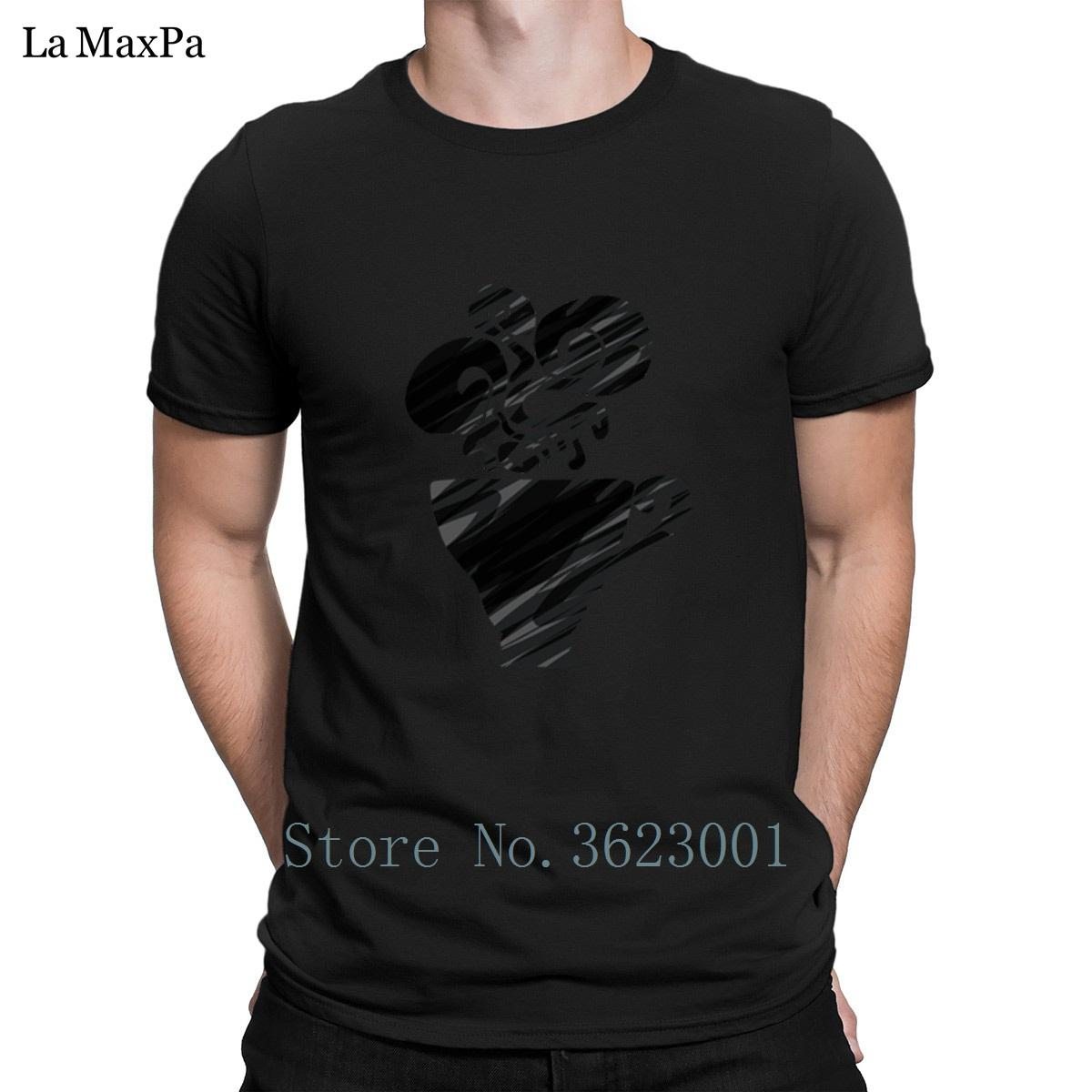Klassische T Sie Großhandel Shirt Herren Erstellen Tee Schwarzer 4gnqE