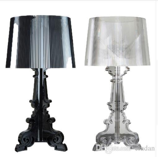 Lampada da tavolo LED Lampada da letto Camera da letto Soggiorno Lampada da  tavolo Acryl Lampada da comodino Ombra Lampada da tavolo Luce Lettura ...