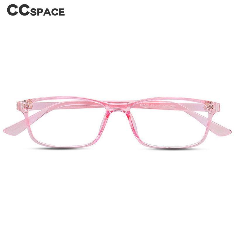 6e02161fcaa 2019 Plastic Titanium Simple Glasses Frames Anti Blue Light Men Women  Optical Fashion Computer Glasses 47018 From Ravishing