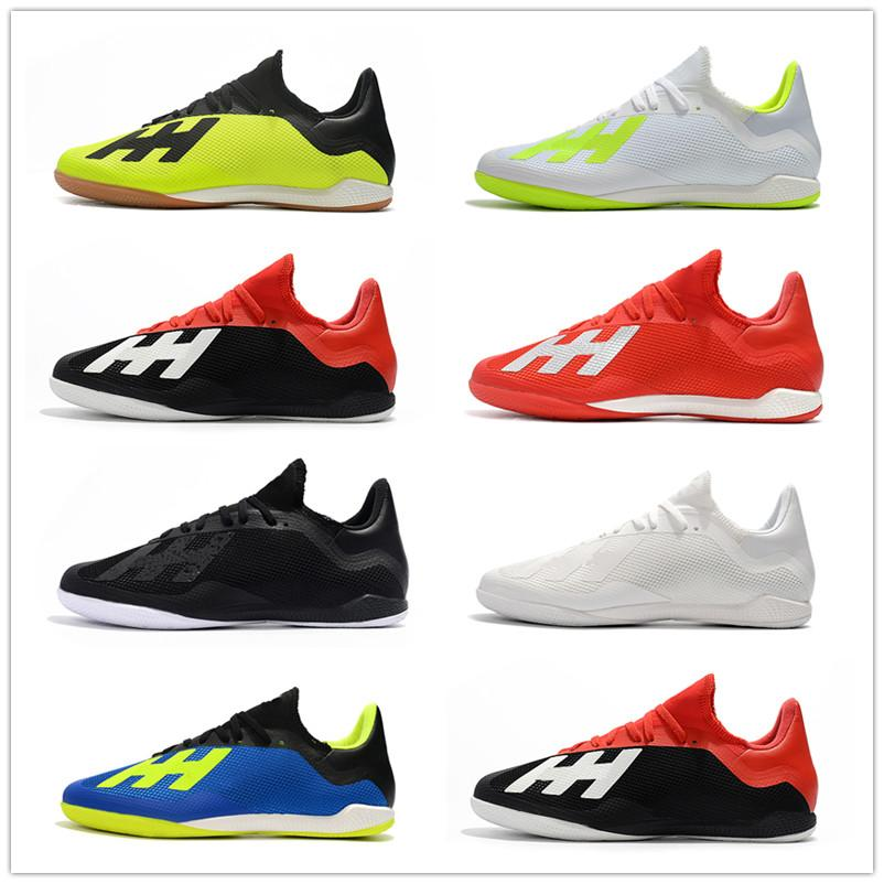 Acquista 2018 Mens X Tango 18.3 IC Indoor Scarpe Da Calcio Chaussures De  Scarpe Da Calcio X 18 Tacchetti Da Calcio Scarpe Da Calcio Coppa Del Mondo  Di Alta ... 33472dfcd92