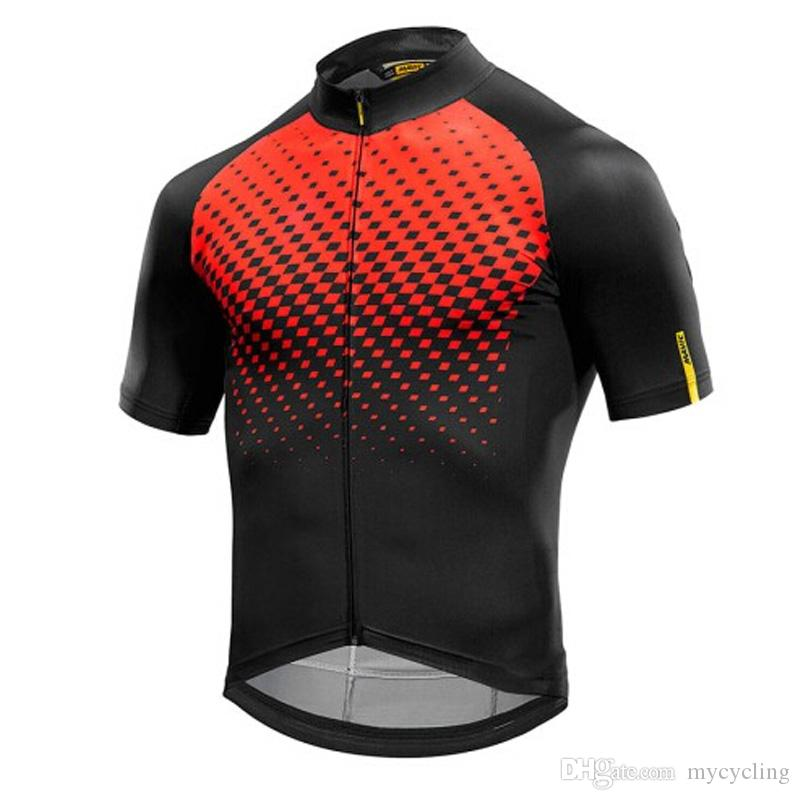 2019 Pro Team Cycling Jersey Men Summer Breathable Short-sleeved ... ad7bf0229