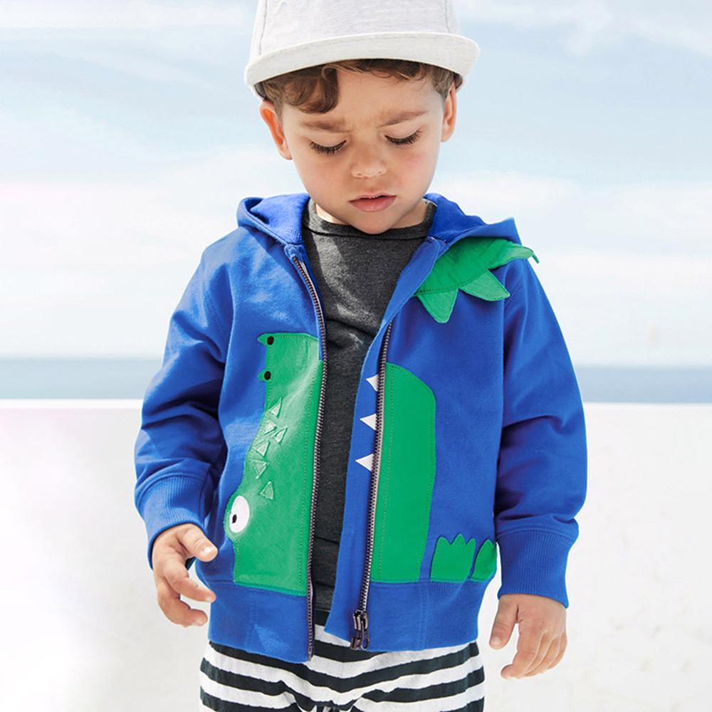29f635dc3 Kids Baby Winter Cartoon Animal Coat Hooded Jacket Warm Outerwear ...