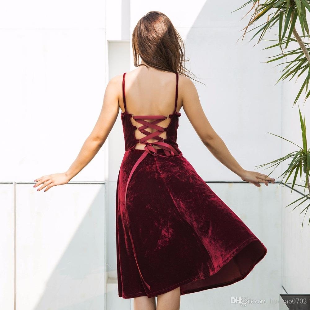Großhandel Verband Bodycon Sleeveless Clubwear Partei Kleider 2018 ...