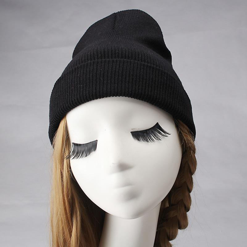 6363154172c 2019 C Fashion Women S Winter Knitted Hats Fluorescent Color Beanies Hat  Skullies Gorros Casual Solid Colors Leisure Cap Girls Female From Qingbale