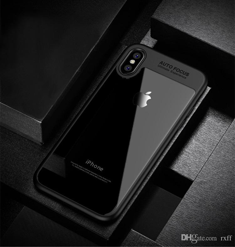 Auto Focus Phone Shockproof Case CrystaL Clear & Brilliant Clarity Protection Phone Perfect Protector Case For Iphone X 6 7 8 Samsung