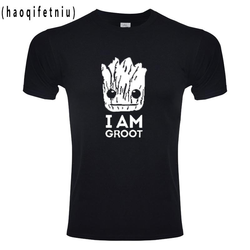 Groot T Shirts Tees Men Unisex X Planet Monarch Bounty Hunter Movie  Guardians Of The Galaxy Lovely COOL Funny Novelty Worlds Funniest T Shirts  Cool Tee ... a9b261da77c7c