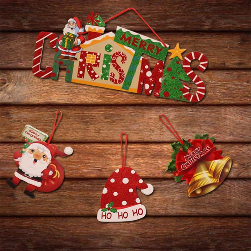 Deko Weihnachten 2019.2019 Jahr Frohe Weihnachten Dekorationen Für Zuhause Romantische Xmas String Hängende Charm Party Dekoration Weihnachtsbaum Ornament