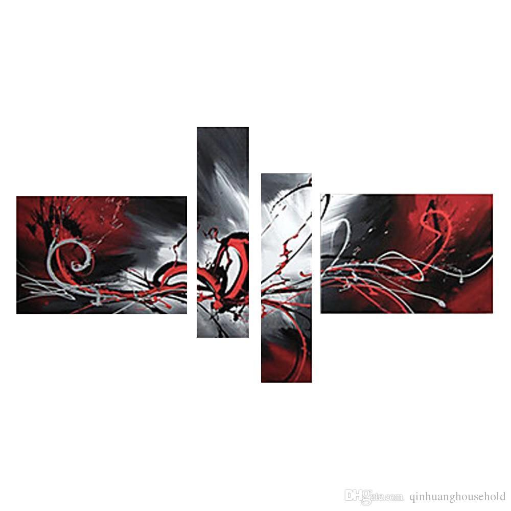 Compre Pintados M O Conjunto De Pintura A Leo Linhas De Fluxo  -> Decoracao Para Sala De Aee