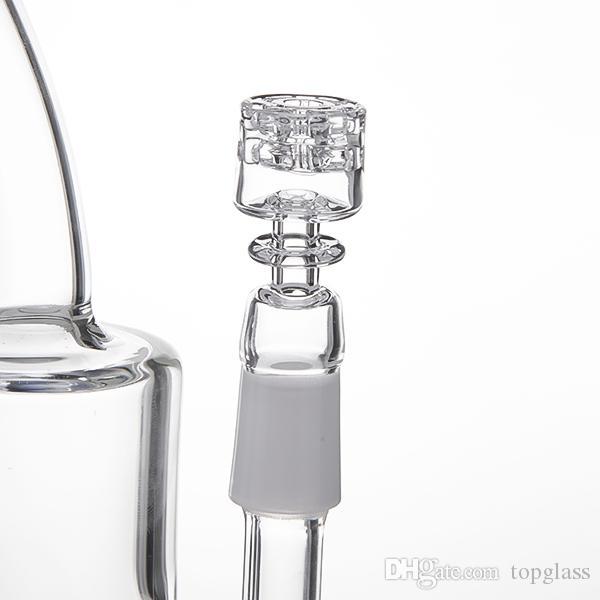 2018 Date au détail Diamant sans noeuds Nœud de Quartz Nail Efficient Eails Élégant Élégant Conçu. Idéal pour les conduites d'eau en verre, bongs