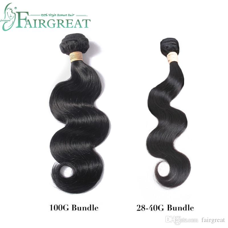 Fairgreat 6bundles Remy Human hair Straight & body wave With Closure Human Hair Bundles With Lace Closure Brazilian human hair Extensions