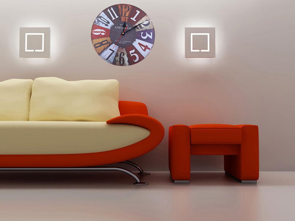 Igh Quality Living Room Wall Clocks Good Quality Arabic Numbers ...