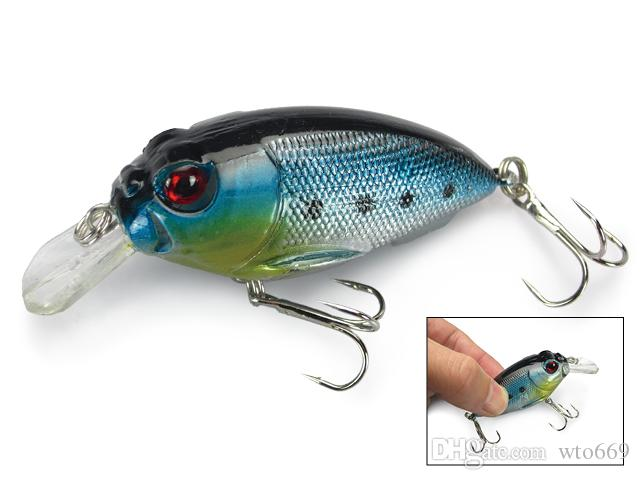 Wholesale 20 Fishing Lures Frog Lure Fishing Bait Crankbait Fishing Tackle Insect Hooks Bass 10g/7cm