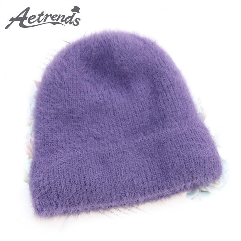 AETRENDS 2018 Winter Hat Women S Mohair Beanies Warm Soft Beanie Hats For  Women Cap Z 6676 Hats For Sale Hats Online From Bestqueen 6a007f44f16