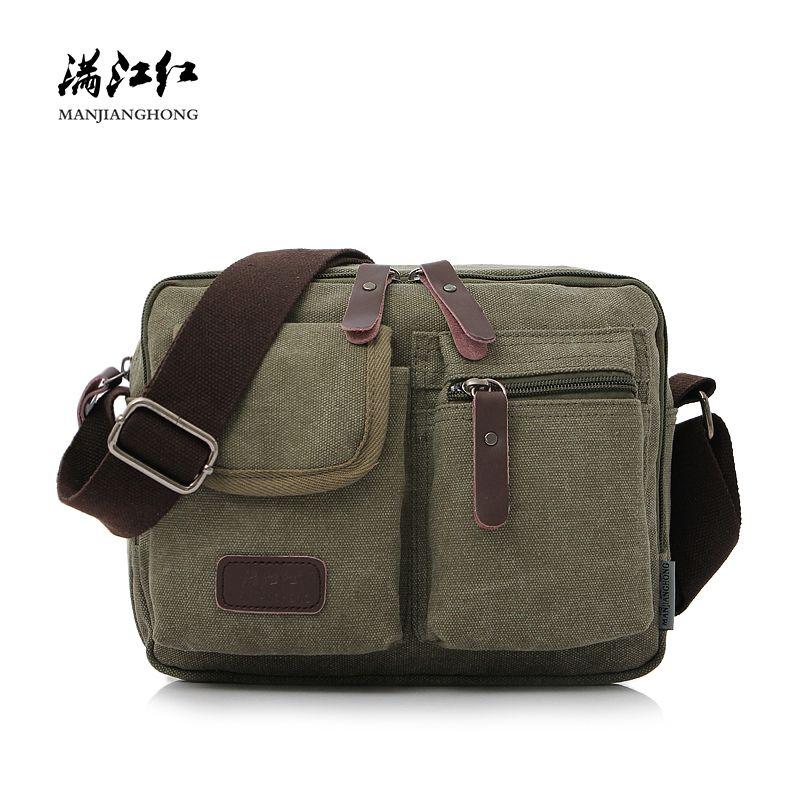 c6ded3c87d48 Fashion Canvas Crossbody Bag For Men Small Vintage Zipper Shoulder  Messenger Bag For Boys Casual Crossbody Satchel Bag Men 1134 S914 Black  Purses Handbags ...